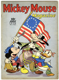 Golden Age (1938-1955):Cartoon Character, Mickey Mouse Magazine V4#10 (K. K. Publications, Inc., 1939)Condition: VG....