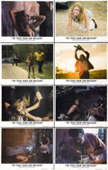 """Movie Posters:Horror, The Texas Chainsaw Massacre (Bryanston, 1974). Lobby Card Set of 8 (11"""" X 14"""").... (Total: 8 Items)"""