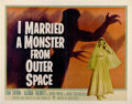 """Movie Posters:Science Fiction, I Married a Monster from Outer Space (Paramount, 1958). Half Sheet(22"""" X 28"""")...."""