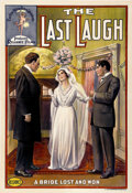 "Movie Posters:Short Subject, The Last Laugh (Reliance Pictures, 1911). One Sheet (27"" X 41"")...."