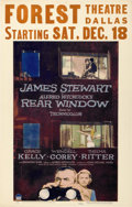 "Movie Posters:Hitchcock, Rear Window (Paramount, 1954). Window Card (14"" X 22"")...."
