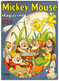 Golden Age (1938-1955):Cartoon Character, Mickey Mouse Magazine V3#7 (K. K. Publications, Inc., 1938)Condition: VG....
