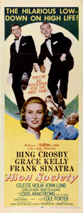 """Movie Posters:Musical, High Society (MGM, 1956). Insert (14"""" X 36"""")...."""