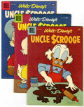 Silver Age (1956-1969):Cartoon Character, Uncle Scrooge Group (Dell/Gold Key, 1956-65) Condition: Average VG-.... (Total: 10 Comic Books)