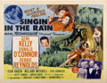 """Movie Posters:Musical, Singin' in the Rain (MGM, 1952). Half Sheet (22"""" X 28"""") Style B...."""