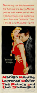 "Movie Posters:Romance, The Prince and the Showgirl (Warner Brothers, 1957). Insert (14"" X36"")...."