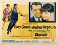 "Movie Posters:Mystery, Charade (Universal, 1963). Half Sheet (22"" X 28"")...."