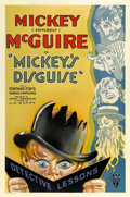 "Movie Posters:Short Subject, Mickey's Disguise (RKO, 1933). One Sheet (27"" X 41"")...."