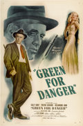 "Movie Posters:Mystery, Green for Danger (MGM, 1946). One Sheet (27"" X 41"")...."