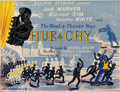 "Movie Posters:Comedy, Hue and Cry (General Film Distributors, 1947). British Quad (30"" X40"")...."
