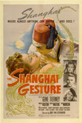 "Movie Posters:Film Noir, The Shanghai Gesture (United Artists, 1942). One Sheet (27"" X41"")...."