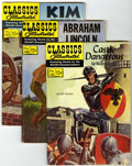 Silver Age (1956-1969):Classics Illustrated, Classics Illustrated - First Editions Group (Gilberton, 1957-60)Condition: Average VG/FN.... (Total: 12 Comic Books)