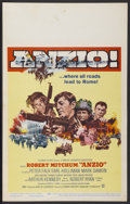 "Movie Posters:War, Anzio (Columbia, 1968). Window Card (14"" X 22""). War...."