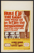 """Movie Posters:Western, A Big Hand for the Little Lady (Warner Brothers, 1966). Window Card(14"""" X 22""""). Western...."""