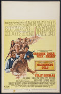 "Movie Posters:Western, Mackenna's Gold (Columbia, 1969). Window Card (14"" X 22""). Western...."