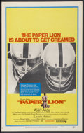 """Movie Posters:Sports, Paper Lion (United Artists, 1968). Window Card (14"""" X 22""""). Sports...."""