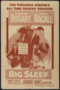 "Movie Posters:Film Noir, The Big Sleep (Warner Brothers, R-1954). One Sheet (27"" X 41"").Film Noir...."