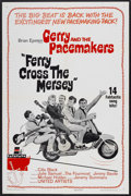 "Ferry Cross the Mersey (United Artists, 1965). One Sheet (27"" X 41"") and Lobby Cards (2) (11"" X 14"")..."