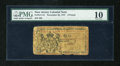 Colonial Notes:New Jersey, New Jersey November 20, 1757 £6 PMG Very Good 10....