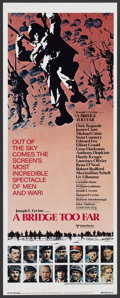 "Movie Posters:War, A Bridge Too Far (United Artists, 1977). Insert (14"" X 36"").War...."