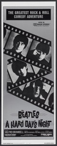 """Movie Posters:Rock and Roll, A Hard Day's Night (United Artists, R-1982). Insert (14"""" X 36"""").Rock and Roll...."""