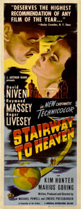 "Movie Posters:Fantasy, Stairway to Heaven (Universal International, 1946). Insert (14"" X36"")...."