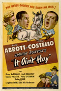 "Movie Posters:Comedy, It Ain't Hay (Universal, 1943). One Sheet (27"" X 41"")...."