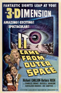 "Movie Posters:Science Fiction, It Came From Outer Space (Universal International, 1953). One Sheet(27"" X 41"")...."