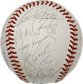 Autographs:Baseballs, 1991 AL All-Stars Team Signed Baseball. Played under the dome inToronto's Skydome, the 1991 All-Star Game was quite the th...