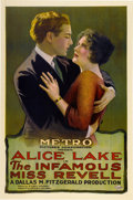 "Movie Posters:James Bond, The Infamous Miss Revell (Metro, 1921). One Sheet (27"" X 41"")...."