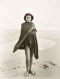 Photographs, JOCK STURGES (American, b. 1947). Marnie, The Last Day of Summer #2, Montalivet, France, 1989. Silver gelatin, 1989. Pap...