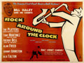 "Movie Posters:Rock and Roll, Rock Around the Clock (Columbia, 1956). British Quad (30"" X40"")...."