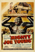 "Movie Posters:Adventure, Mighty Joe Young (RKO, 1949). One Sheet (27"" X 41"") Style B...."
