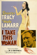 """Movie Posters:Romance, I Take This Woman (MGM, 1940). One Sheet (27"""" X 41"""") Style C...."""