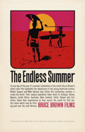 "Movie Posters:Sports, The Endless Summer (Universal, 1966). Poster (11"" X 17"")...."