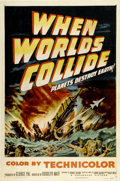 """Movie Posters:Science Fiction, When Worlds Collide (Paramount, 1951). One Sheet (27"""" X 41"""")...."""
