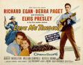 "Movie Posters:Elvis Presley, Love Me Tender (20th Century Fox, 1956). Half Sheet (22"" X 28"")...."