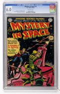 Golden Age (1938-1955):Science Fiction, Mystery in Space #3 (DC, 1951) CGC FN 6.0 Off-white pages....