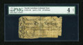Colonial Notes:North Carolina, North Carolina April 4, 1748 30s PMG Good Net 4....