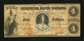 Canadian Currency: , Toronto, ON- Colonial Bank of Canada $4 Apr. 4, 1859 Ch. #130-10-04-08. ...