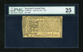 Colonial Notes:Maryland, Maryland April 10, 1774 $1/2 PMG Very Fine 25....