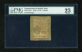 Colonial Notes:Pennsylvania, Pennsylvania April 3, 1772 3d PMG Very Fine 25....