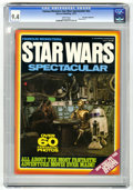 Magazines:Science-Fiction, Famous Monsters Star Wars Spectacular #nn Don Rosa Collectionpedigree (Warren, 1977) CGC NM 9.4 White pages....