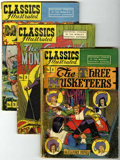 Golden Age (1938-1955):Classics Illustrated, Classics Illustrated Group (Gilberton, 1947-49) Condition: Average GD/VG.... (Total: 21 Comic Books)