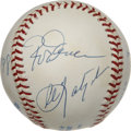 Autographs:Baseballs, 3,000 Hit Club Multi-Signed Baseball. It takes tremendous skill andlongevity to have eclipsed the 3,000 career hit mark. H...