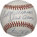 Autographs:Baseballs, 500 Home Run Club Signed Baseball Signed by Eleven. The currently offered gem makes will surely gain the attention of the du...