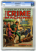 Magazines:Crime, The Crime Machine #2 Don Rosa Collection pedigree (Skywald, 1971)CGC NM+ 9.6 Off-white to white pages....