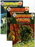 Bronze Age (1970-1979):Horror, Swamp Thing Group (DC, 1974-76) Condition: Average VF.... (Total:12 Comic Books)