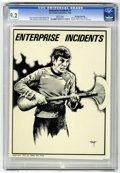 Magazines:Science-Fiction, Enterprise Incidents #1 Don Rosa Collection pedigree (Sci Fi ComicAssociation, 1976) CGC NM- 9.2 White pages....