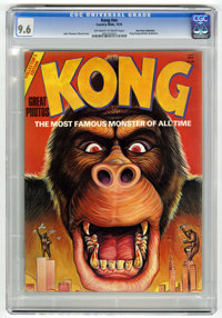 Kong #nn Don Rosa Collection pedigree (Country Wide, 1976) CGC NM+ 9.6 Off-white to white pages
